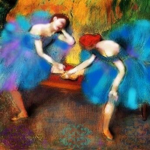 Great Art Redux by Susi Franco-Degas Ballerina