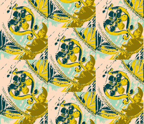 Old Ways Modern fabric by susaninparis on Spoonflower - custom fabric