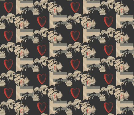 My Love fabric by pelej on Spoonflower - custom fabric