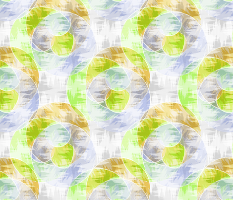 ikat_rings fabric by glimmericks on Spoonflower - custom fabric