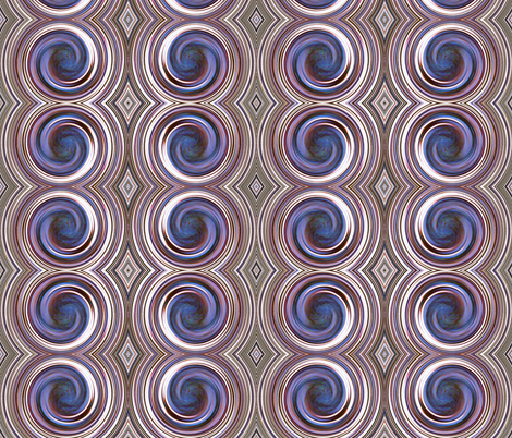 Purple Spin  fabric by sarahdesigns on Spoonflower - custom fabric