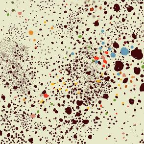 Toulouse Latrec inspired Confetti Print