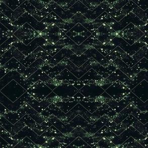 Glitter Bokeh Chevron - Forrest Greet