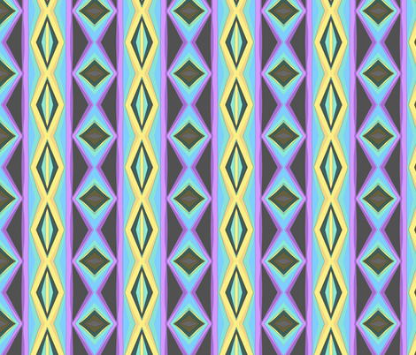 Snakes fabric by kcs on Spoonflower - custom fabric