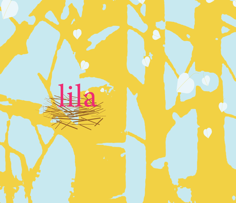 lila aspen quilt fabric fabric by dakotajk on Spoonflower - custom fabric