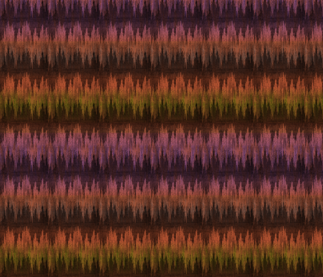 evening_ikat fabric by glimmericks on Spoonflower - custom fabric