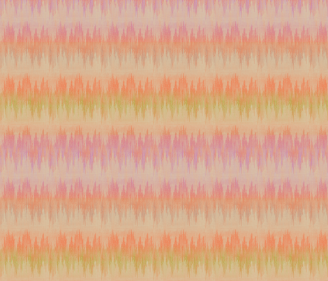 painted_desert_ikat fabric by glimmericks on Spoonflower - custom fabric