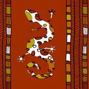 African gecko