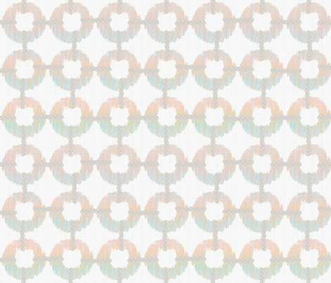 oh_my_pastel_ikat fabric by glimmericks on Spoonflower - custom fabric