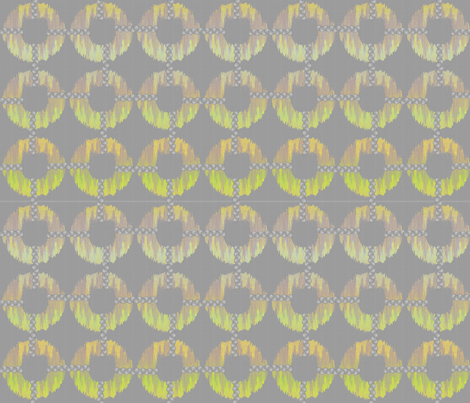 oh_my_gray_ikat fabric by glimmericks on Spoonflower - custom fabric