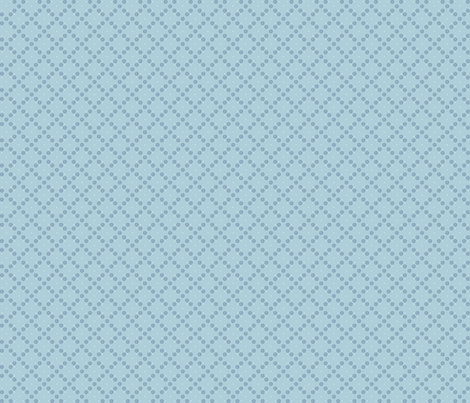 Aussie DITSY blue fabric by gitchyville_stitches on Spoonflower - custom fabric