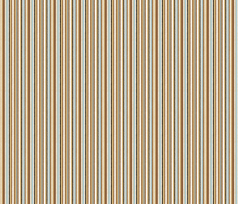 Aussie STRIPE blue fabric by gitchyville_stitches on Spoonflower - custom fabric