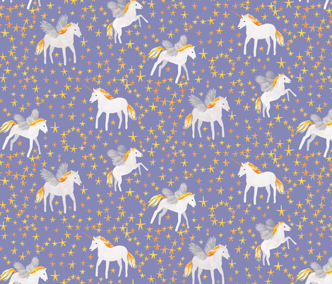 Pegasus fabric by siankeegan on Spoonflower - custom fabric