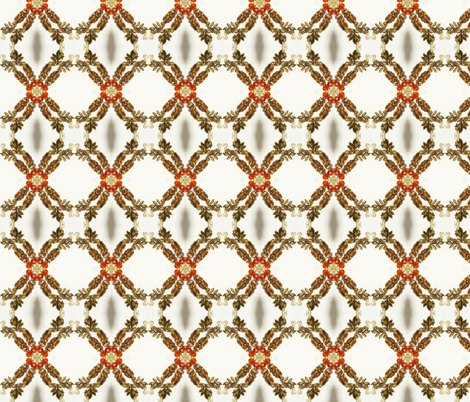Kaleidoscopic Otters fabric by ravynscache on Spoonflower - custom fabric