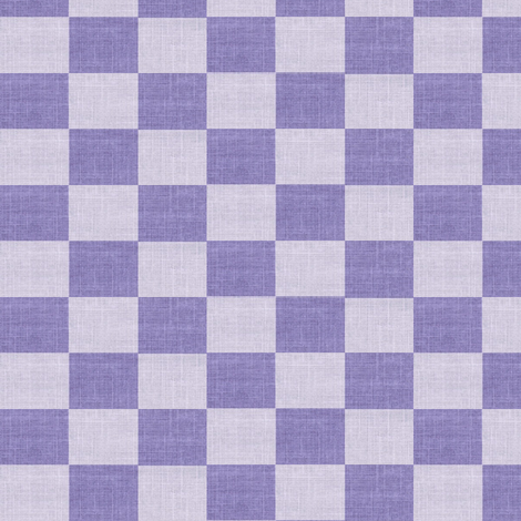 Check Mates - purple plum fabric by materialsgirl on Spoonflower - custom fabric