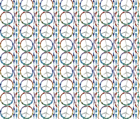 peace_beads fabric by tat1 on Spoonflower - custom fabric