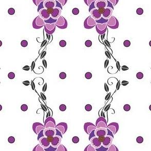 Purple_Pokadot_scroll_flower