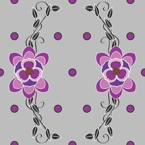 Purple_Pokadot_scroll_on_grey