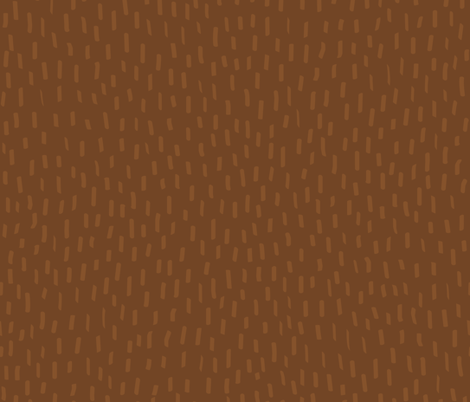 Brown Fur by Frizt.in fabric by friztin on Spoonflower - custom fabric
