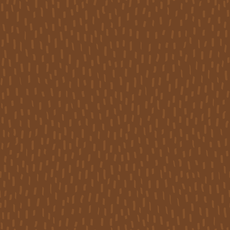 Brown Fur by Friztin fabric by friztin on Spoonflower - custom fabric