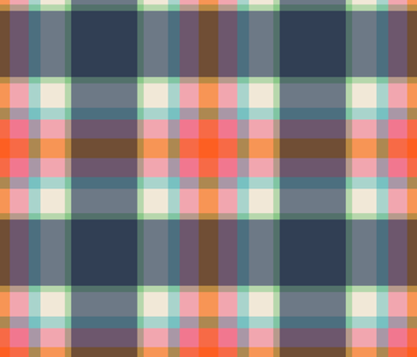 summer plaid fabric by anieke on Spoonflower - custom fabric