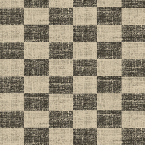 Check Mates - charcoal and ash fabric by materialsgirl on Spoonflower - custom fabric