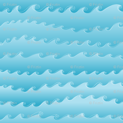 Ocean Waves by Friztin