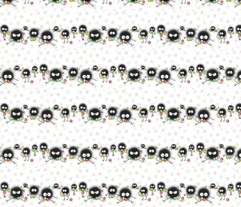 Soot-Sprites-hayao-miyazaki-8652938-1024-512 fabric by inferno_creations on Spoonflower - custom fabric