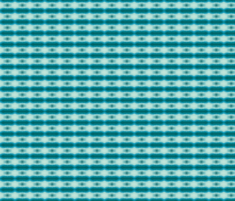 Troubled Waters (teals) fabric by ravynscache on Spoonflower - custom fabric