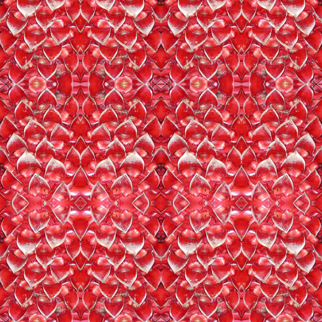 Red Dragon Scales fabric by ravynscache on Spoonflower - custom fabric