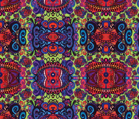 mjs_your_paisley_eyes fabric by spontaneouscombustion on Spoonflower - custom fabric