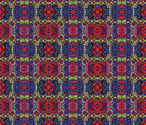 MJS Your  Bright Paisley Eyes fabric by spontaneouscombustion on Spoonflower - custom fabric