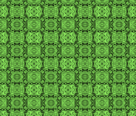 MJS Your Green Paisley Eyes fabric by spontaneouscombustion on Spoonflower - custom fabric