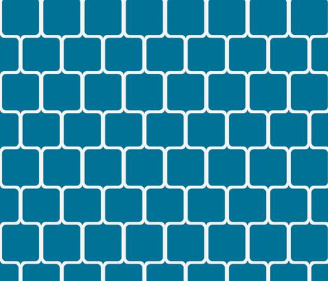 Points in Lynnere blue fabric by ninaribena on Spoonflower - custom fabric