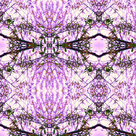 Amethyst Branches fabric by ravynscache on Spoonflower - custom fabric