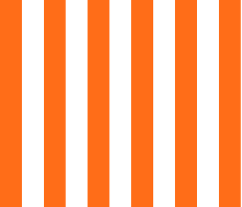 orange circus stripe