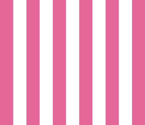pink circus stripe fabric by aliceapple on Spoonflower - custom fabric