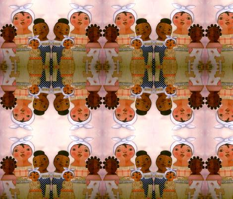 Berthas, Bettys, Belluahs fabric by vnewton on Spoonflower - custom fabric