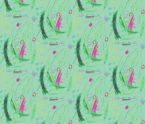 Happy Valentine's Day fabric by evedixiedesigns on Spoonflower - custom fabric
