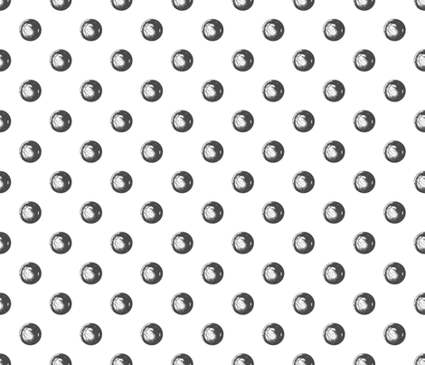 Ball Bearing Polka Dots fabric by hollycejeffriess on Spoonflower - custom fabric