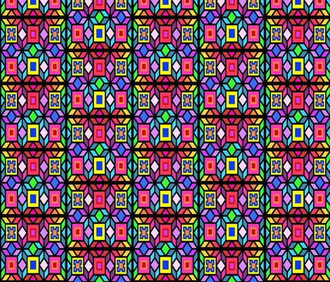 mosaic fabric by krs_expressions on Spoonflower - custom fabric