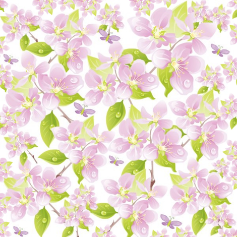 Butterfly Garden fabric by thepinkhome on Spoonflower - custom fabric
