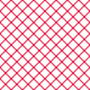 diagonal red check