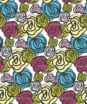 flowers multicolor