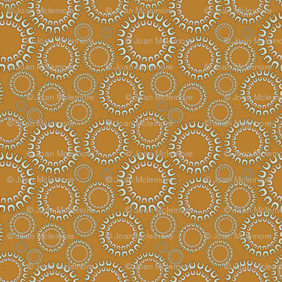 Dancing Dots beige