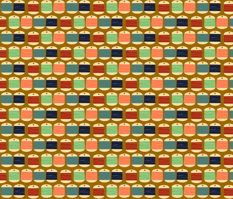 threads fabric by heidikenney on Spoonflower - custom fabric