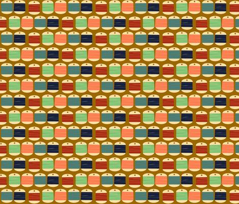 threads fabric by heidikenney on Spoonflower - custom fabric