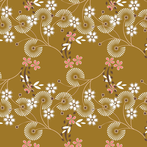 Floral Ditsy Spray fabric by joanmclemore on Spoonflower - custom fabric
