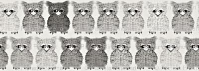 Fuzzy Gray Owlettes