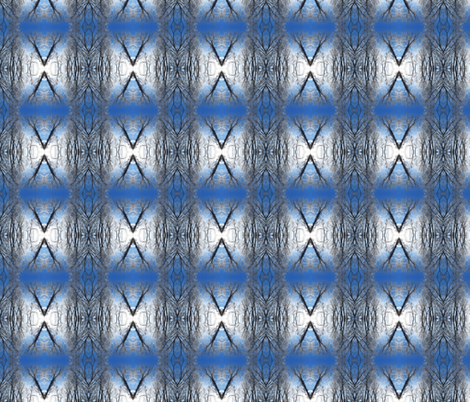 Winter Navajo Rug fabric by ravynscache on Spoonflower - custom fabric
